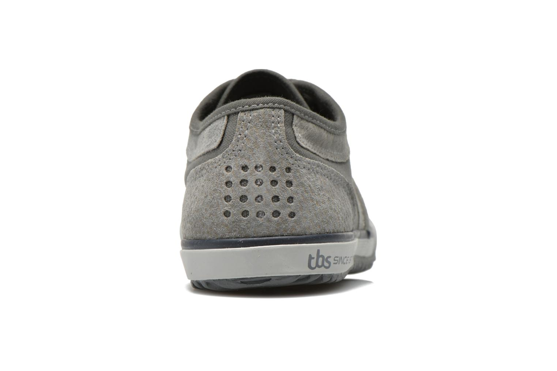 Sneakers TBS Edgard Grijs rechts