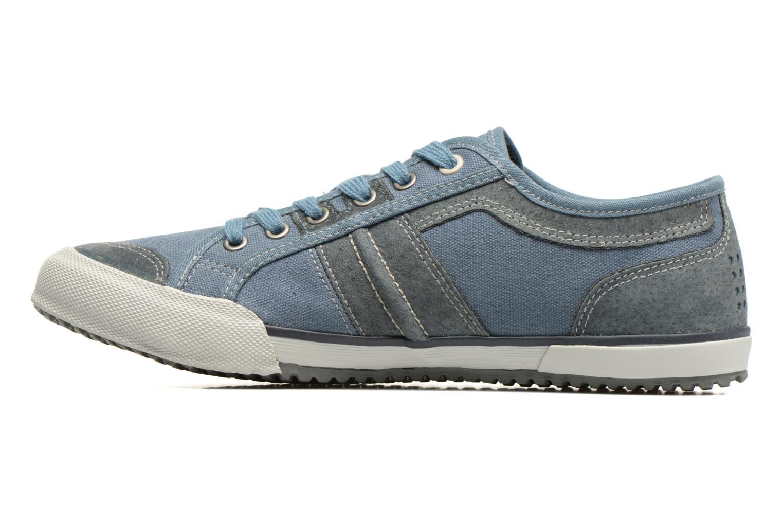 Sneakers TBS Edgard Blauw voorkant