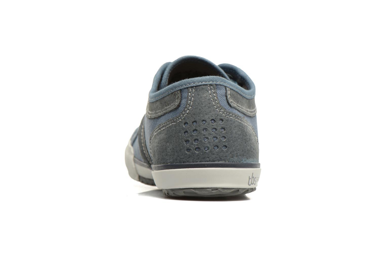 Sneakers TBS Edgard Blauw rechts