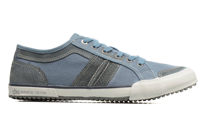 Sneakers TBS Edgard Blauw achterkant