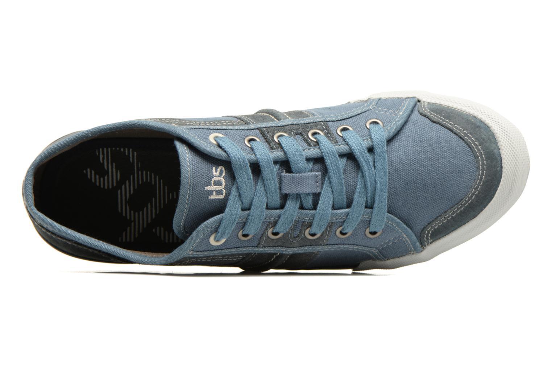 Sneakers TBS Edgard Blauw links