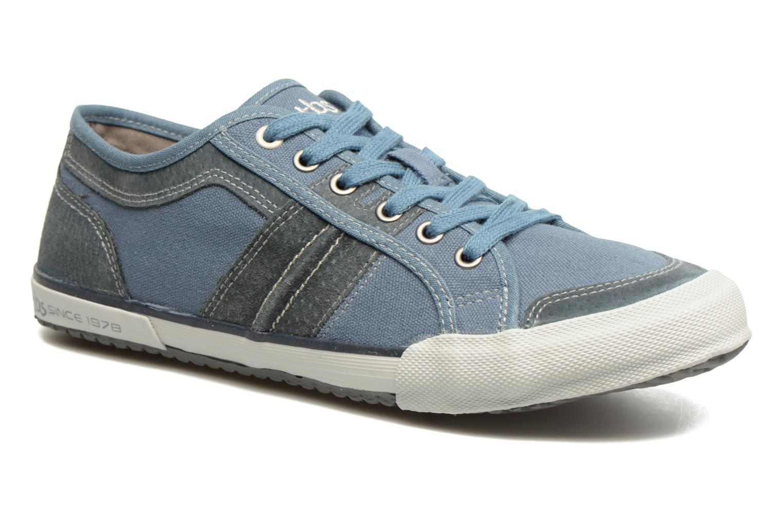 Sneakers TBS Edgard Blauw detail