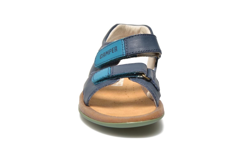 Sandalen Camper Bicho 80411 blau schuhe getragen