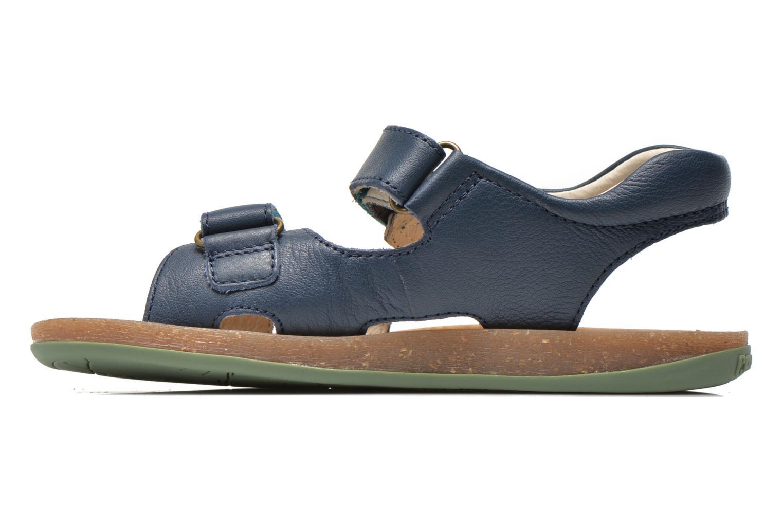 Sandalen Camper Bicho 80411 blau ansicht von vorne