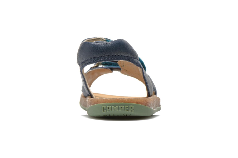 Sandalen Camper Bicho 80411 blau ansicht von rechts