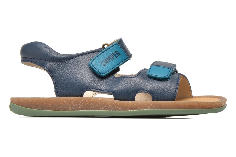 Sandalen Camper Bicho 80411 blau ansicht von hinten