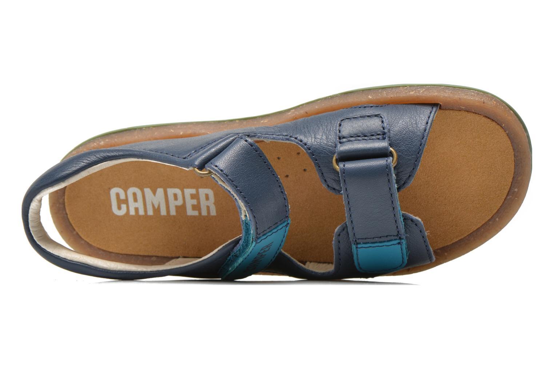 Sandalias Camper Bicho 80411 Azul vista lateral izquierda