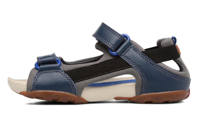Sandales et nu-pieds Camper Ous E Bleu vue face