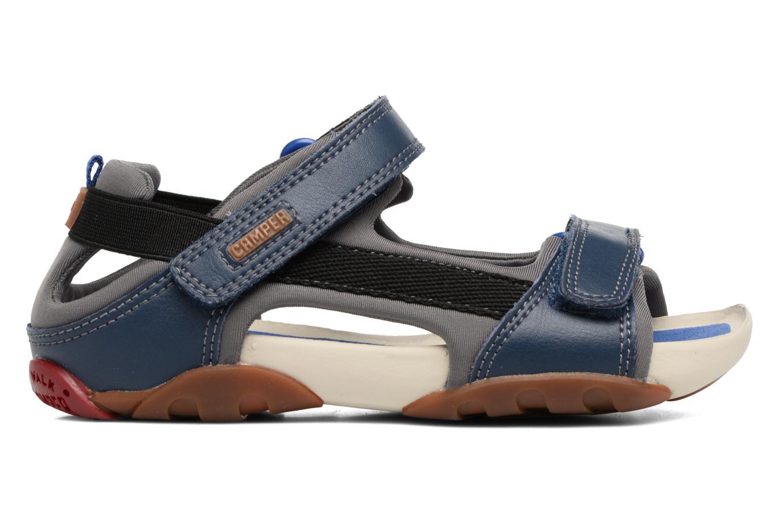 Sandales et nu-pieds Camper Ous E Bleu vue derrière