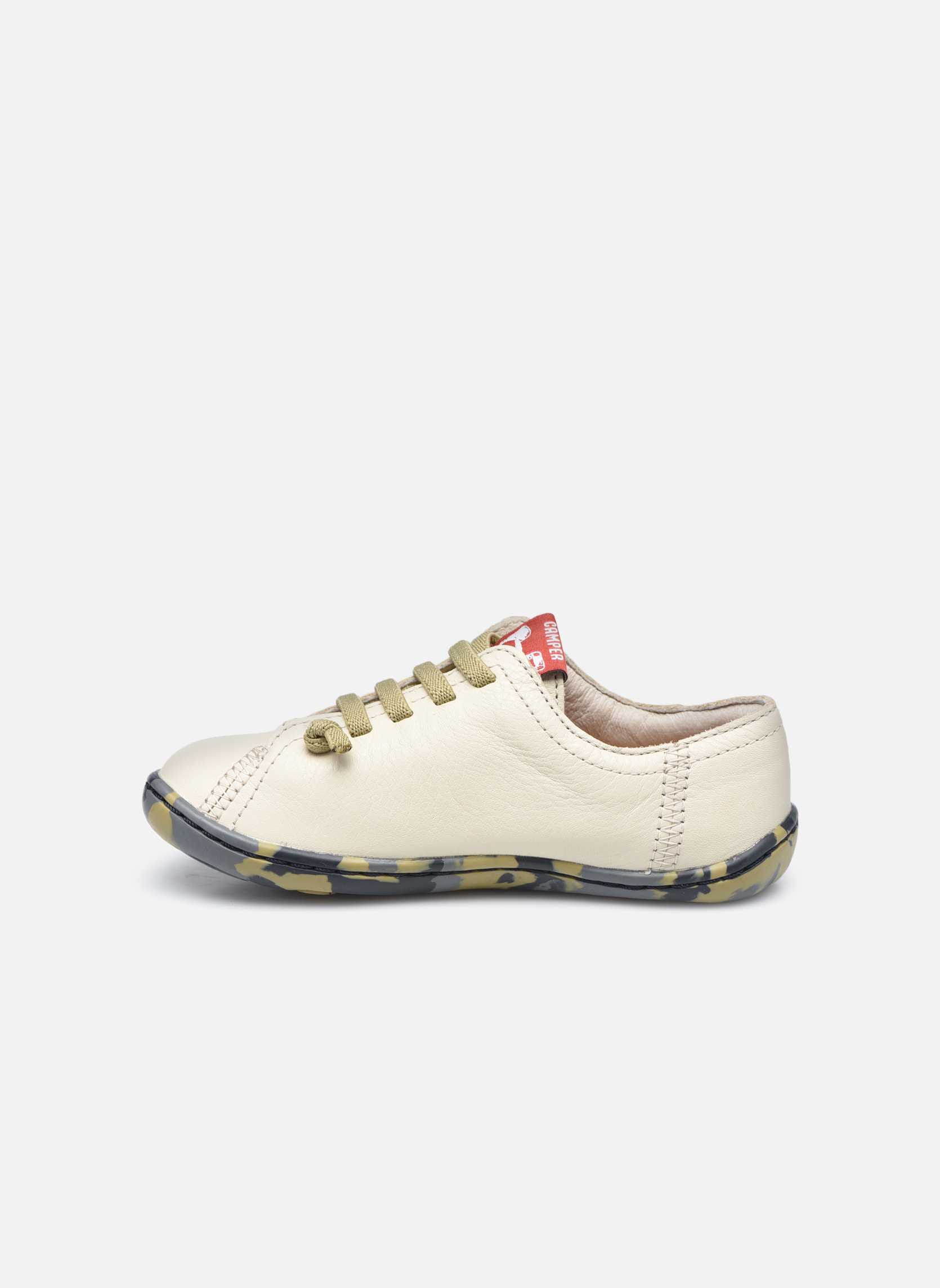 Trainers Camper Peu Low Cami Beige front view