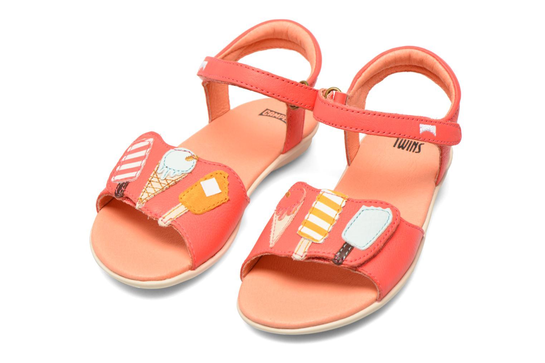 Sandales et nu-pieds Camper Twins Summer Rose vue 3/4