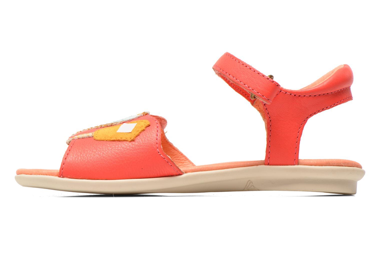 Sandales et nu-pieds Camper Twins Summer Rose vue face