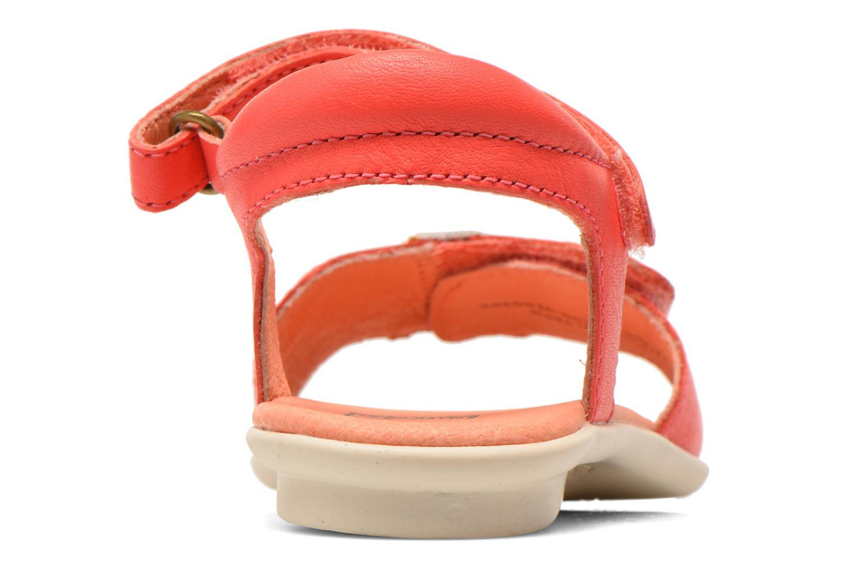 Sandales et nu-pieds Camper Twins Summer Rose vue droite