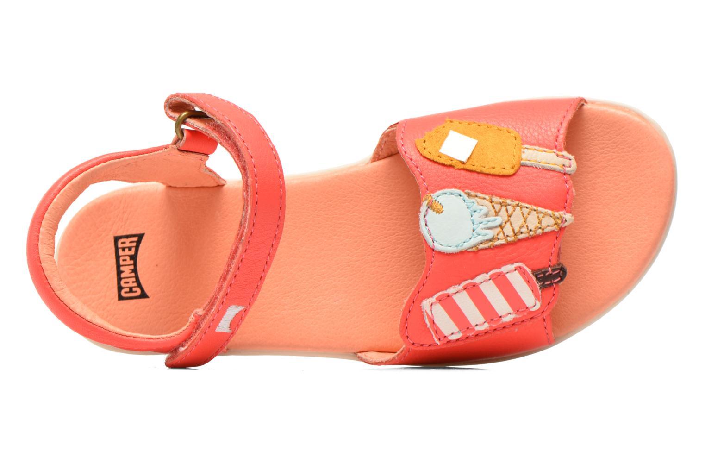 Sandales et nu-pieds Camper Twins Summer Rose vue gauche