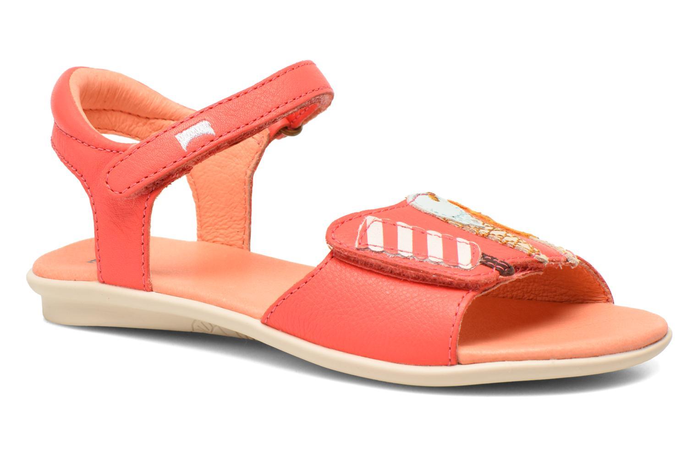 Sandales et nu-pieds Camper Twins Summer Rose vue détail/paire