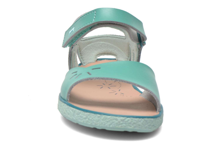 Sandales et nu-pieds Camper Miko Bleu vue portées chaussures