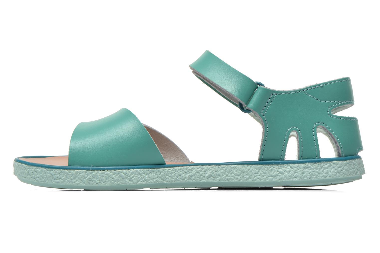 Sandalen Camper Miko blau ansicht von vorne