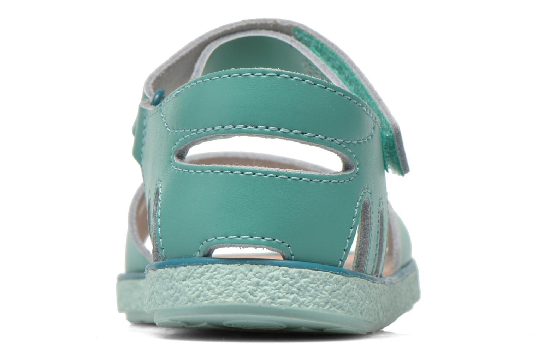 Sandalen Camper Miko blau ansicht von rechts