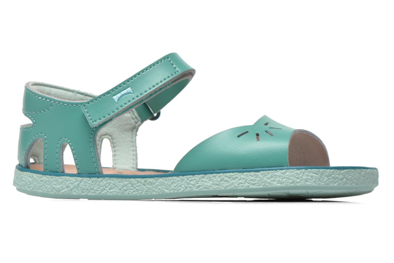 Sandalen Camper Miko blau ansicht von hinten