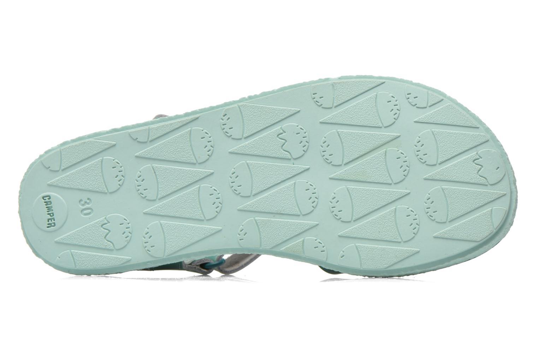 Sandales et nu-pieds Camper Miko Bleu vue haut