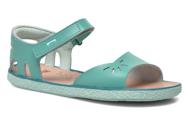Sandales et nu-pieds Camper Miko Bleu vue détail/paire