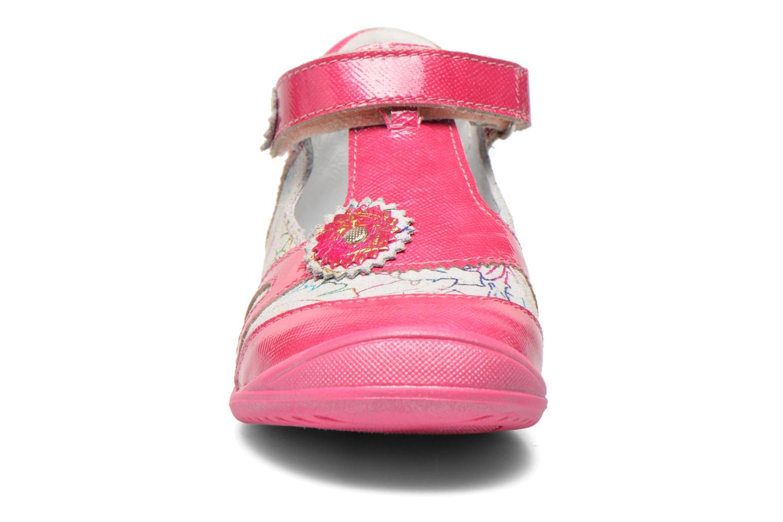Sandales et nu-pieds GBB Maryse Rose vue portées chaussures