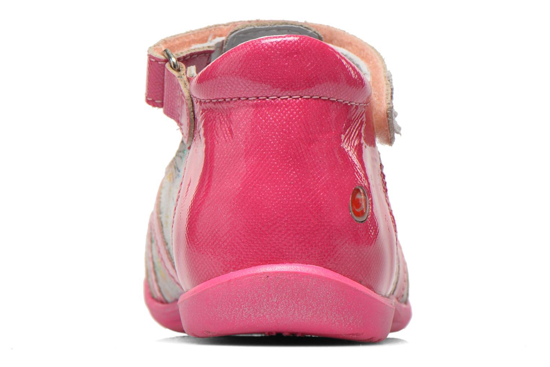Sandales et nu-pieds GBB Maryse Rose vue droite