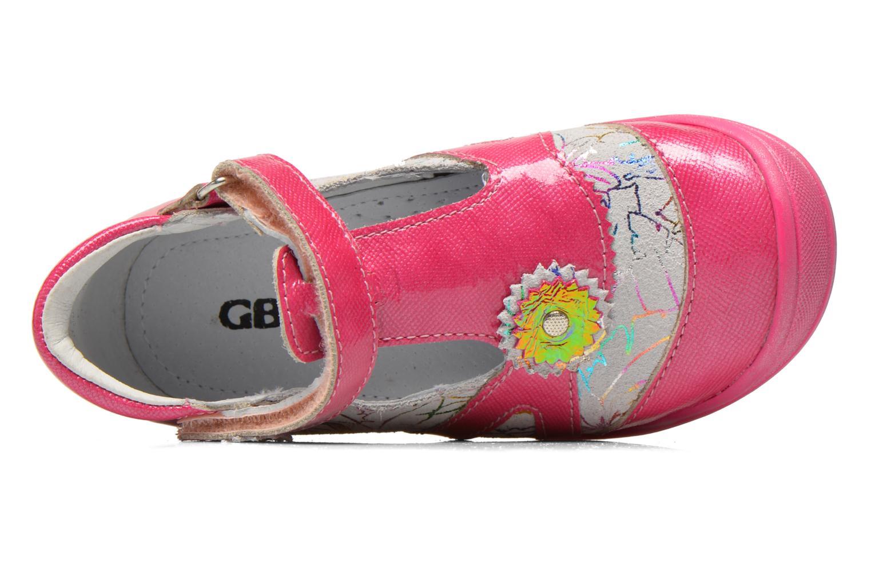 Sandales et nu-pieds GBB Maryse Rose vue gauche