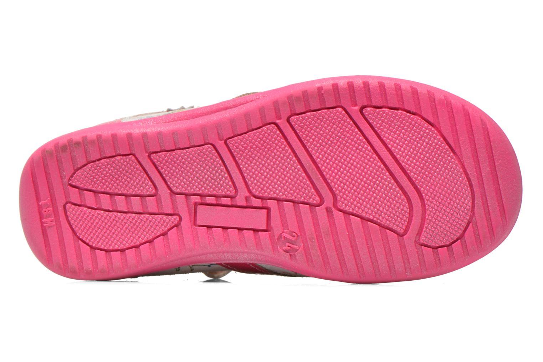 Sandales et nu-pieds GBB Maryse Rose vue haut