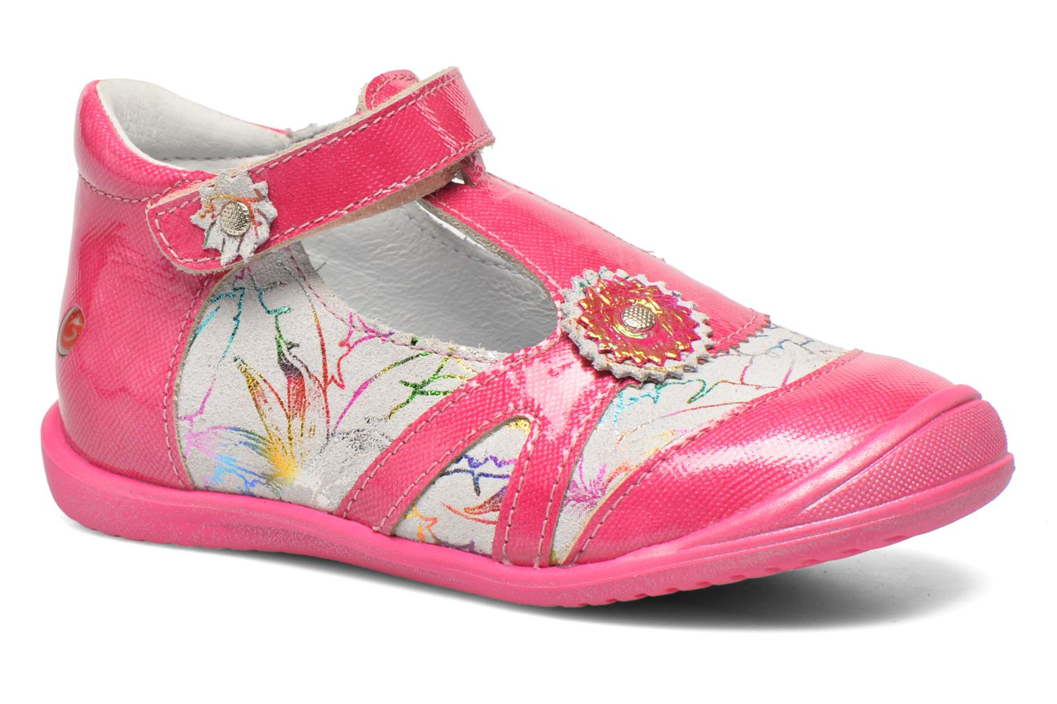 Sandals GBB Maryse Pink detailed view/ Pair view