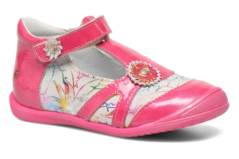 Sandales et nu-pieds GBB Maryse Rose vue détail/paire