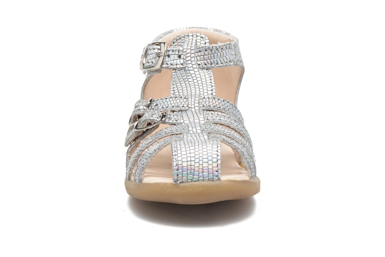 Sandales et nu-pieds GBB Mina Argent vue portées chaussures