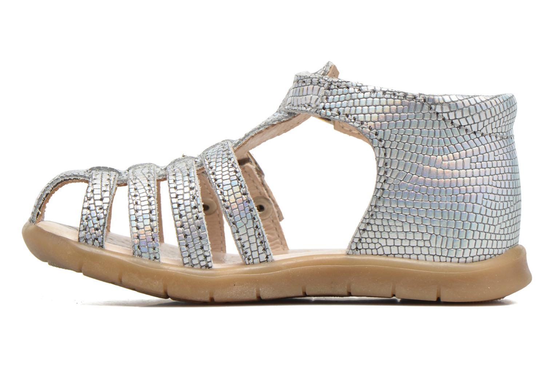 Sandales et nu-pieds GBB Mina Argent vue face