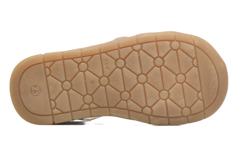 Sandales et nu-pieds GBB Mina Argent vue haut