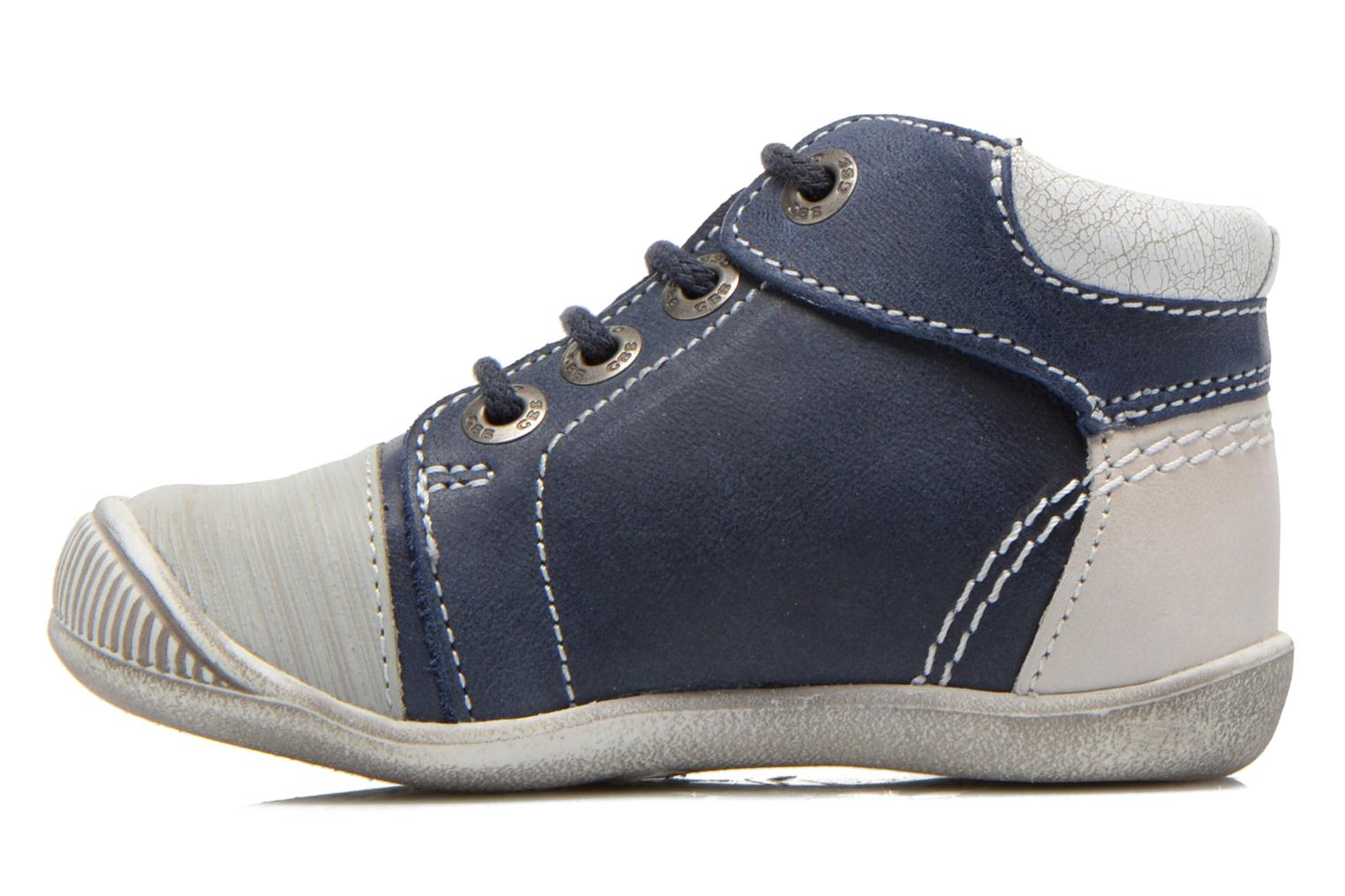 Sneakers GBB Marcus Azzurro immagine frontale