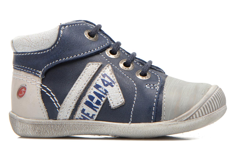 Sneakers GBB Marcus Azzurro immagine posteriore