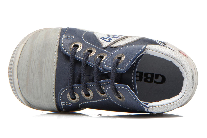 Sneakers GBB Marcus Azzurro immagine sinistra