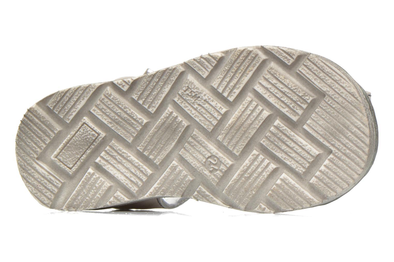 Sandales et nu-pieds GBB Max Gris vue haut