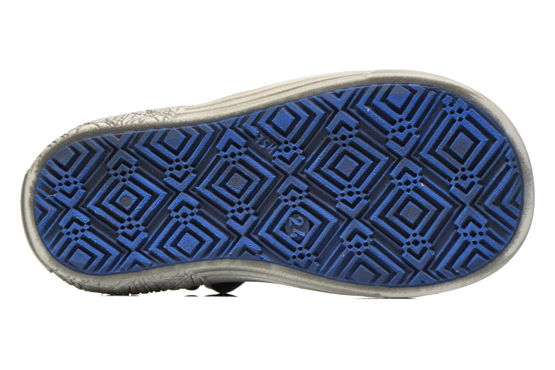 Zapatos con velcro GBB Mika Azul vista de arriba