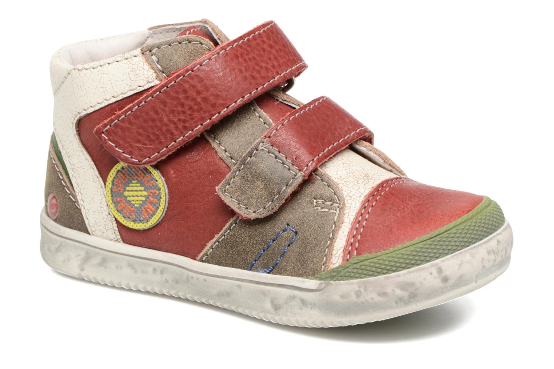 Bottines et boots GBB Medard Rouge vue détail/paire