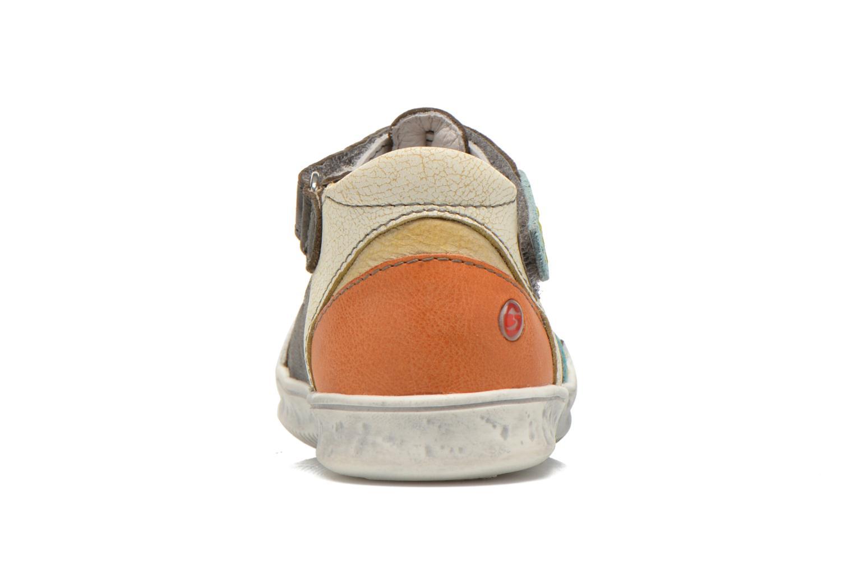 Chaussures à scratch GBB Mao Gris vue droite