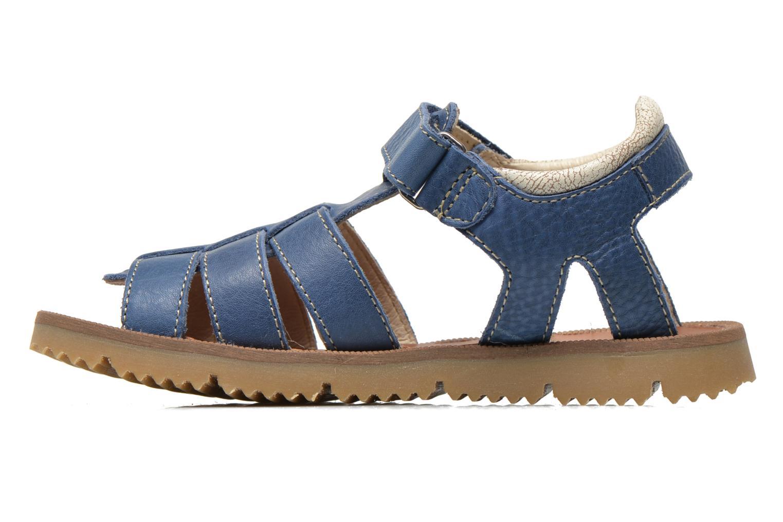 Sandalen GBB Martial blau ansicht von vorne
