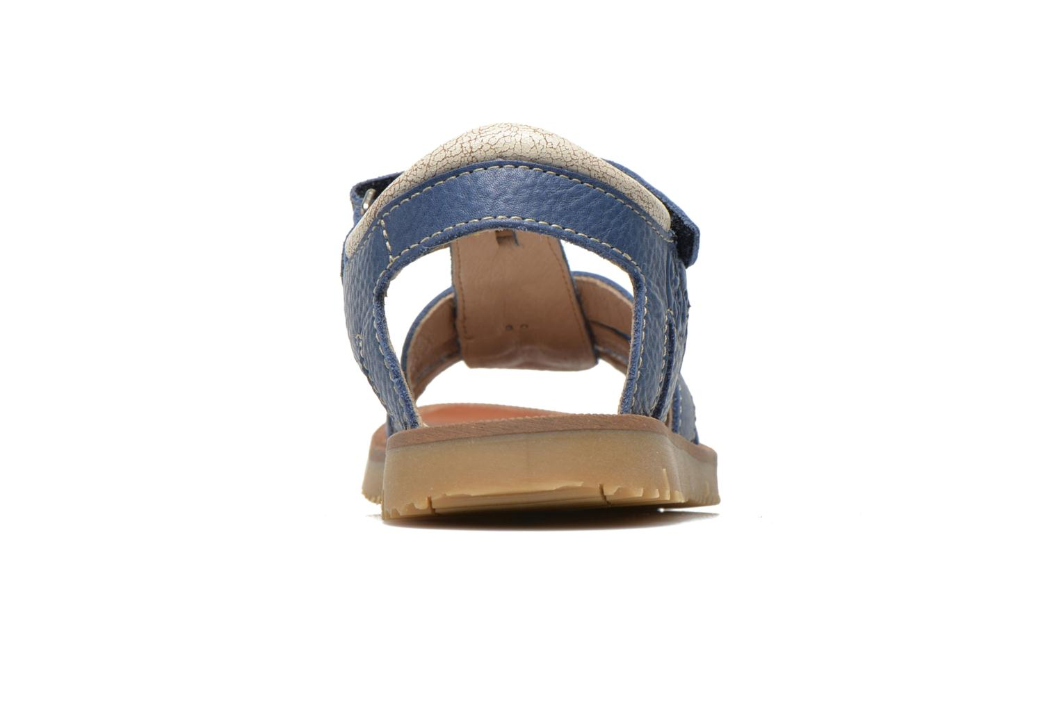 Sandals GBB Martial Blue view from the right