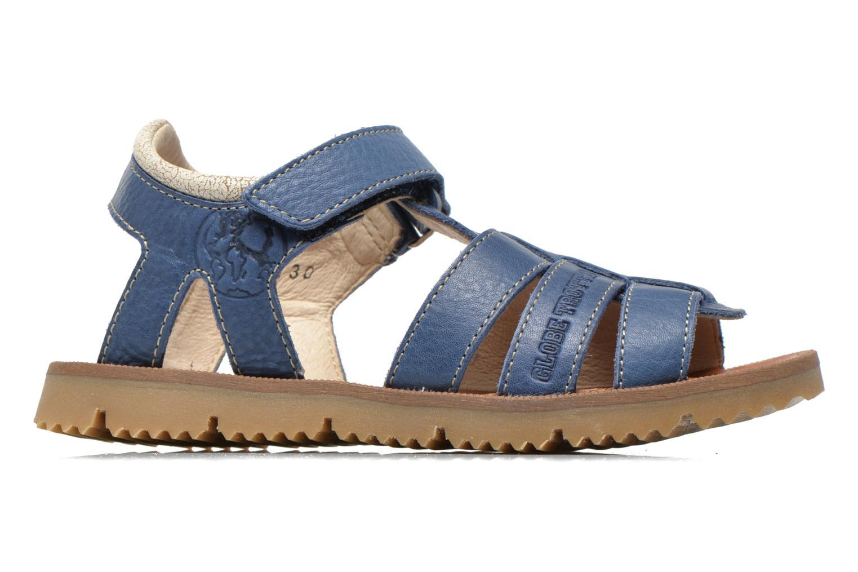 Sandalen GBB Martial blau ansicht von hinten