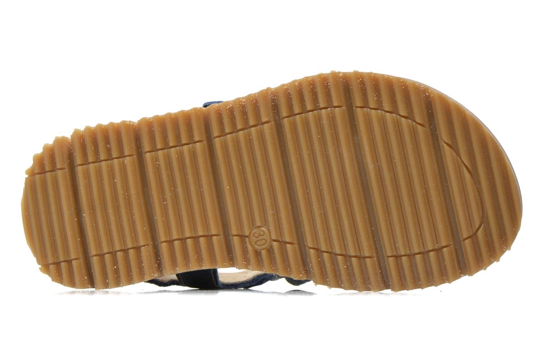 Sandalen GBB Martial blau ansicht von oben