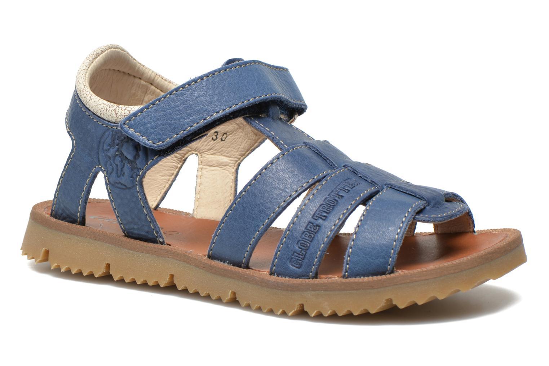Sandals GBB Martial Blue detailed view/ Pair view