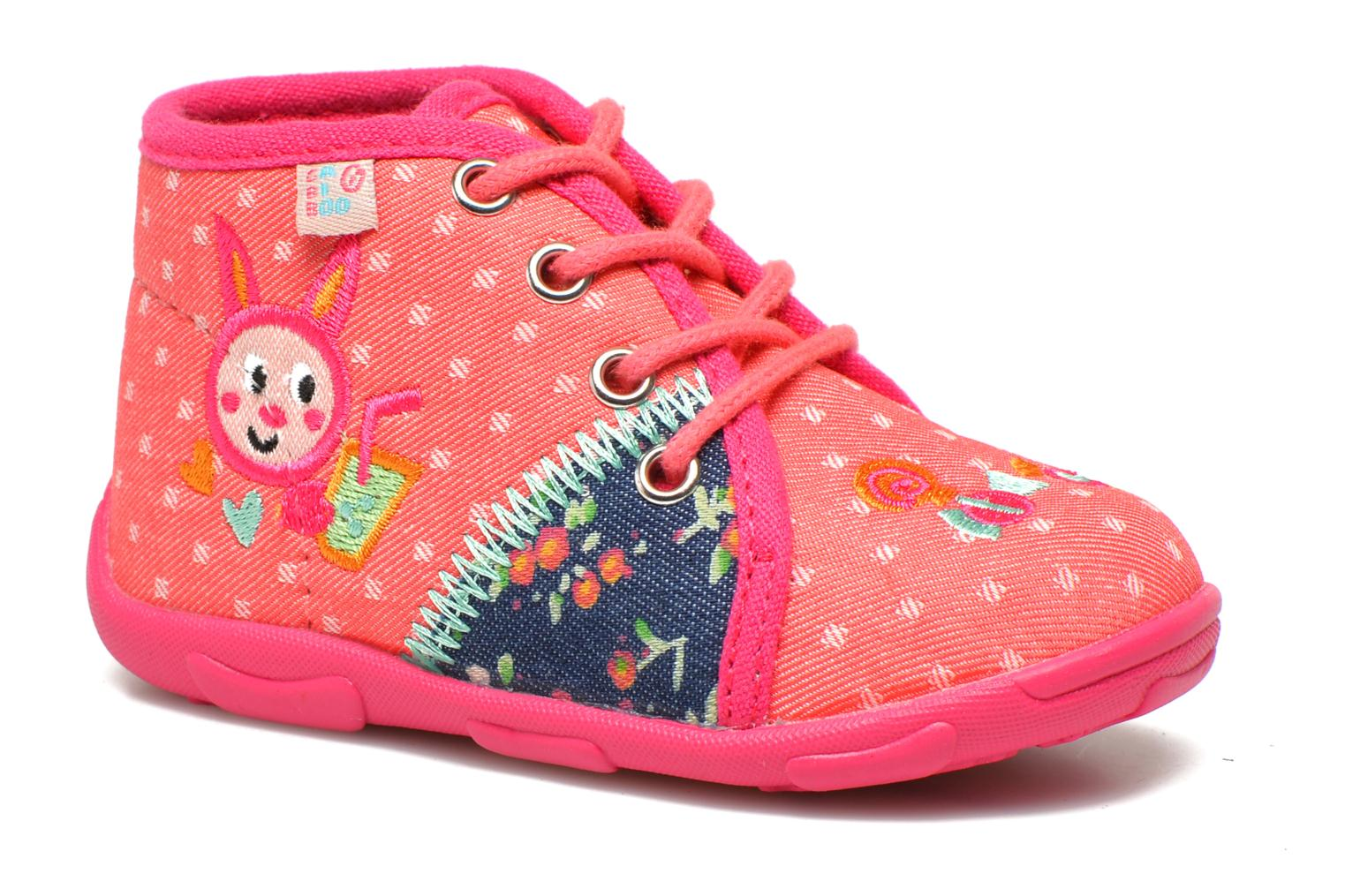 Slippers GBB Mayline Pink detailed view/ Pair view