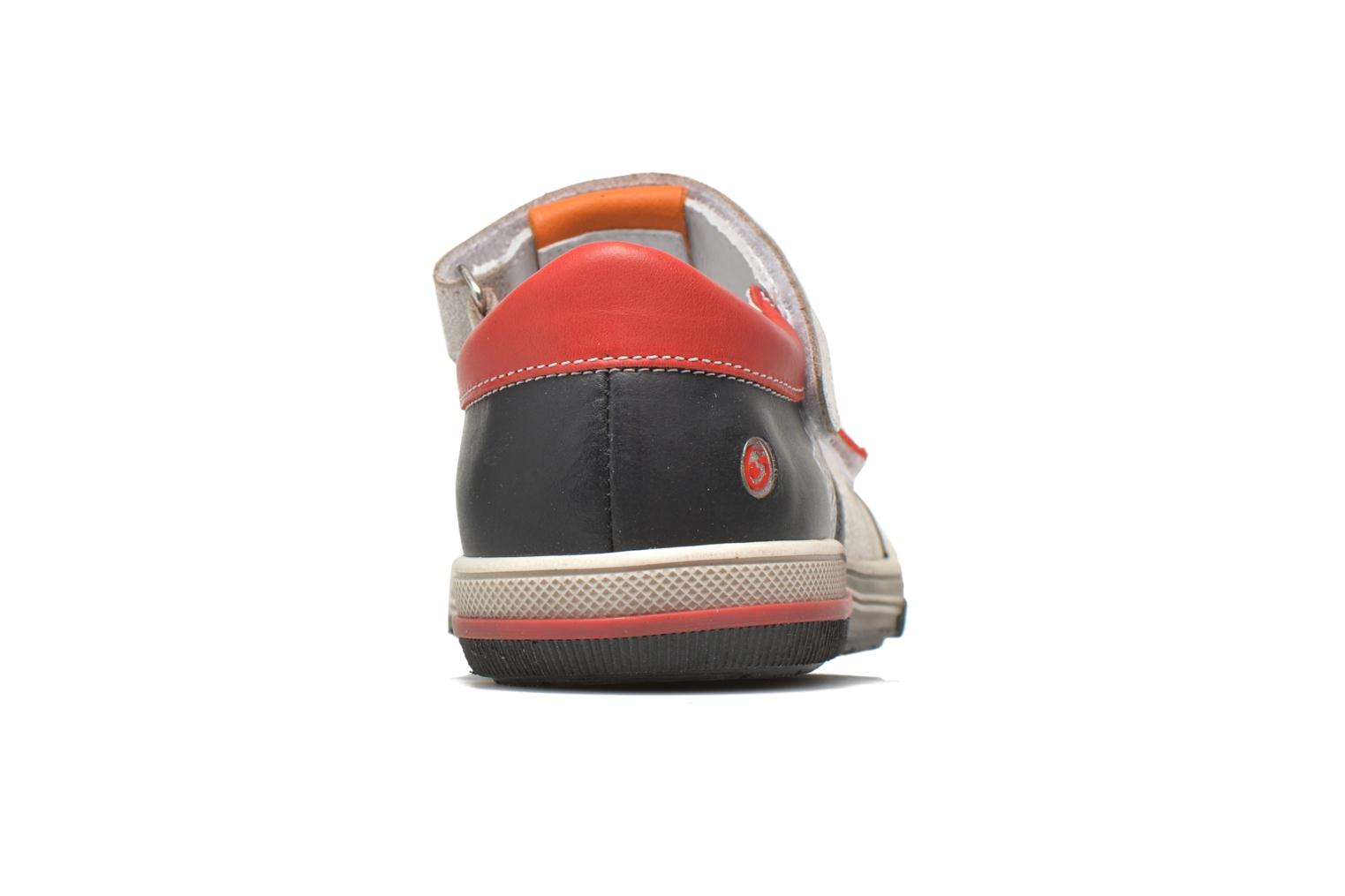 Velcro shoes GBB Medine Multicolor view from the right