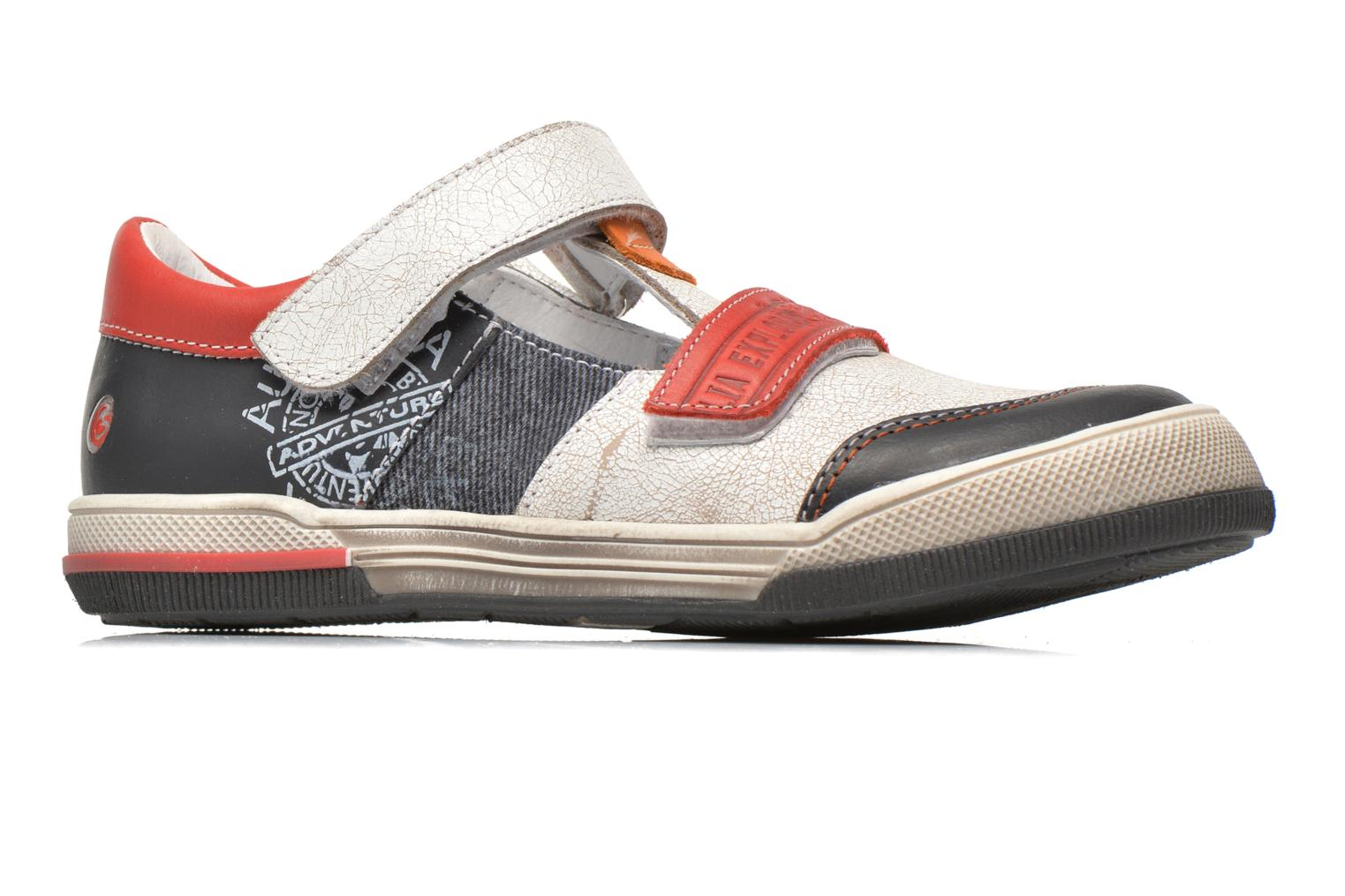 Velcro shoes GBB Medine Multicolor back view