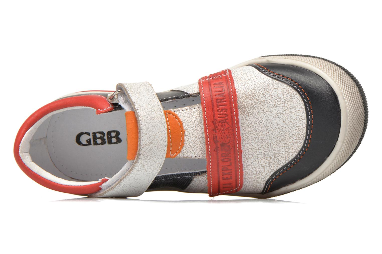 Velcro shoes GBB Medine Multicolor view from the left